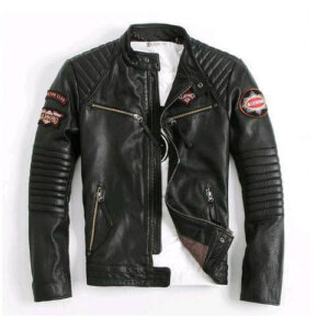 Distressed Biker Jackets